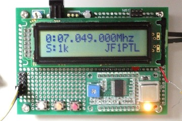 AD9851DDS-VFO